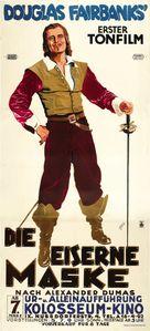 The Iron Mask - Austrian Movie Poster (xs thumbnail)