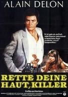 Pour la peau d'un flic - German Movie Poster (xs thumbnail)