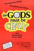The Gods Must Be Crazy - Movie Poster (xs thumbnail)