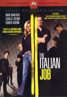 The Italian Job - Swedish DVD cover (xs thumbnail)