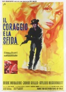 The Singer Not the Song - Italian Movie Poster (xs thumbnail)