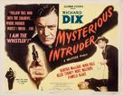 Mysterious Intruder - Movie Poster (xs thumbnail)