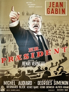 Le président - Danish Movie Poster (xs thumbnail)