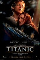 Titanic - Chilean Movie Poster (xs thumbnail)