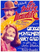 The Brasher Doubloon - French Movie Poster (xs thumbnail)