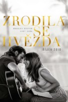 A Star Is Born - Slovak Movie Poster (xs thumbnail)