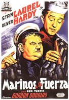 Saps at Sea - Spanish Movie Poster (xs thumbnail)