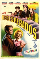 The Desperadoes - Spanish Movie Poster (xs thumbnail)