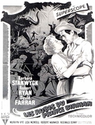Escape to Burma - French Movie Poster (xs thumbnail)