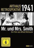 Mr. & Mrs. Smith - German DVD movie cover (xs thumbnail)