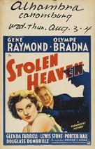 Stolen Heaven - Movie Poster (xs thumbnail)