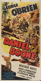 Daniel Boone - Re-release movie poster (xs thumbnail)
