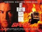 Speed - British Movie Poster (xs thumbnail)