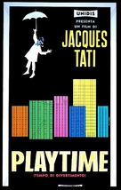 Play Time - Italian Movie Poster (xs thumbnail)