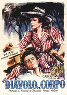 Le diable au corps - Italian Movie Poster (xs thumbnail)
