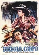 Le diable au corps - Italian Movie Poster (xs thumbnail)