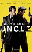 The Man from U.N.C.L.E. - Slovak Movie Poster (xs thumbnail)