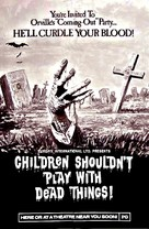 Children Shouldn't Play with Dead Things - Theatrical poster (xs thumbnail)