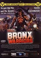 1990: I guerrieri del Bronx - DVD cover (xs thumbnail)