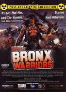 1990: I guerrieri del Bronx - DVD movie cover (xs thumbnail)