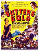 Sutter's Gold - Movie Poster (xs thumbnail)