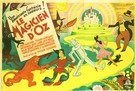 The Wizard of Oz - French Theatrical poster (xs thumbnail)