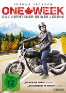 One Week - German DVD cover (xs thumbnail)