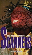 Scanners - Brazilian VHS movie cover (xs thumbnail)