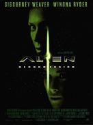 Alien: Resurrection - Spanish Movie Poster (xs thumbnail)