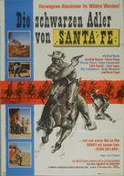 Schwarzen Adler von Santa Fe, Die - German Movie Poster (xs thumbnail)