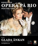 """Metropolitan Opera: Live in HD"" - Swedish Movie Poster (xs thumbnail)"