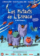 Mutant Aliens - French Movie Poster (xs thumbnail)