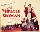 The Miracle Woman - poster (xs thumbnail)