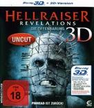 Hellraiser: Revelations - German Blu-Ray cover (xs thumbnail)