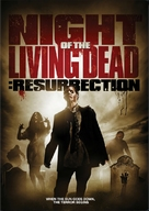 Night of the Living Dead: Resurrection - DVD cover (xs thumbnail)