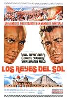 Kings of the Sun - Spanish Movie Poster (xs thumbnail)