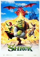 Shrek - Italian Theatrical movie poster (xs thumbnail)