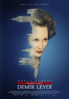 The Iron Lady - Turkish Movie Poster (xs thumbnail)