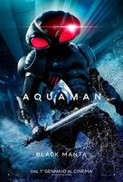 Aquaman - Italian Movie Poster (xs thumbnail)