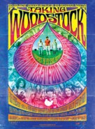 Taking Woodstock - Danish Movie Poster (xs thumbnail)