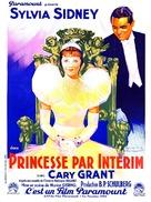 Thirty Day Princess - French Movie Poster (xs thumbnail)