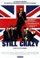 Still Crazy - German Movie Poster (xs thumbnail)