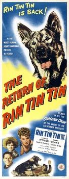 The Return of Rin Tin Tin - Movie Poster (xs thumbnail)