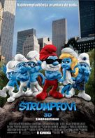 The Smurfs - Croatian Movie Poster (xs thumbnail)