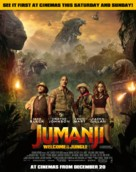 Jumanji: Welcome to the Jungle - British Movie Poster (xs thumbnail)