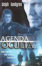Hidden Agenda - Spanish Movie Cover (xs thumbnail)