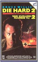 Die Hard 2 - Finnish VHS movie cover (xs thumbnail)