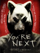 You're Next - DVD movie cover (xs thumbnail)