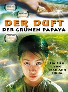 Mùi du du xhan - L'odeur de la papaye verte - German Movie Cover (xs thumbnail)