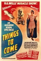 Things to Come - British Movie Poster (xs thumbnail)